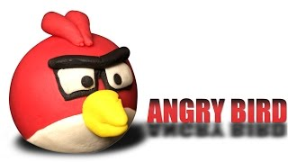Play Doh Angry Bird | Red Angry Bird | How to Make Red Angry Bird