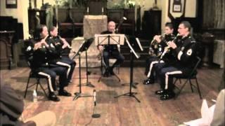 """David Wolfson's """"Dad's Wedding"""" West Point Woodwind Quintet CV29JAN2012 .m4v"""