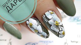 Рисуем орхидею. Урок по дизайну ногтей  Как рисовать орхидею на ногтях