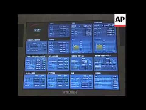 Tokyo stocks fall following Wall Street volatility