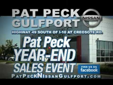 Delightful PAT PECK NISSAN GULFPORT, MS TV   Year End Sales Event  Dec. 2010