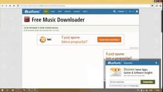 Free Music Downloader Descarca muzica de pe internet din mai multe surse