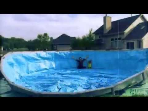 22 X 54 Quot Intex Ultra Frame Swimming Pool Set Up Youtube
