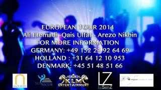Ali Etemadi - Qais Ulfat & Arezo Nikbin Live in Europe
