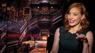 Jessica Chastain Reveals the Subliminal Messages in Crimson Peak
