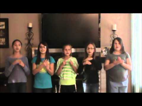 Girl Scout Song 'Make New Friends' in ASL