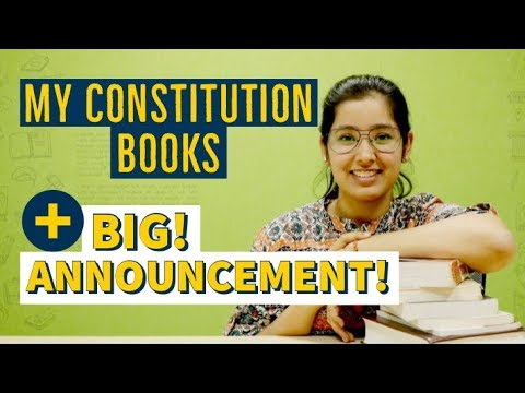 Constitution Of India Books For Students   Big Announcement