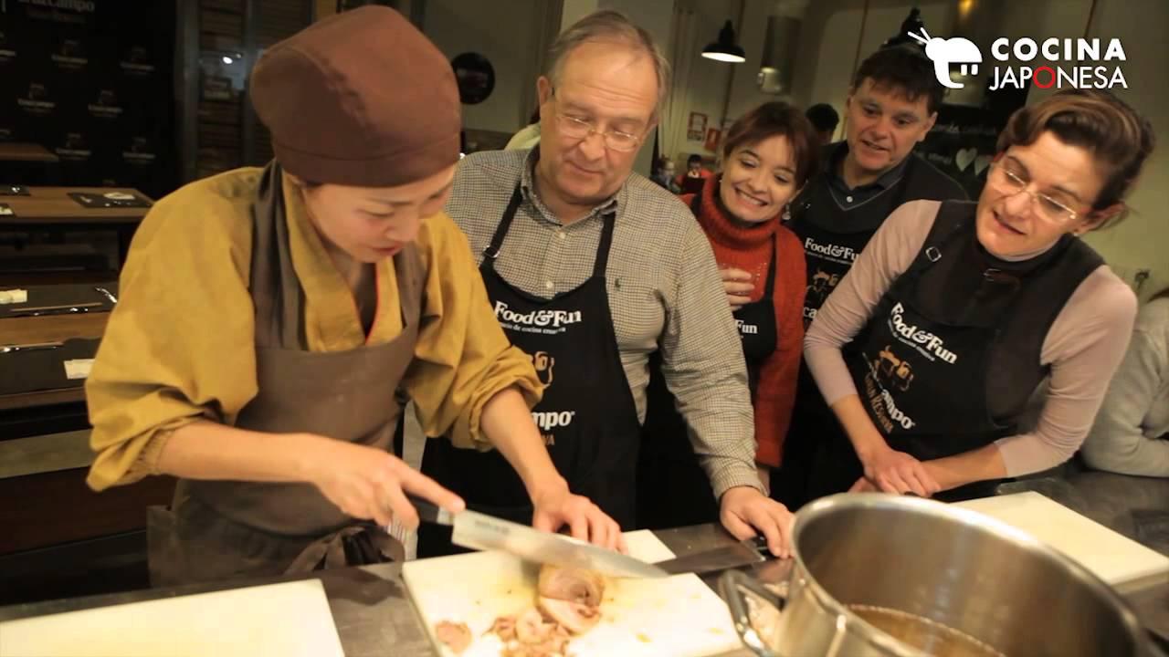 Curso de cocina japonesa en valencia por taka sasaki - Curso cocina valencia ...