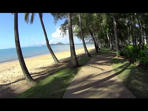 Virtual Treadmill Walk Palm Cove Tropical North Queensland Australia