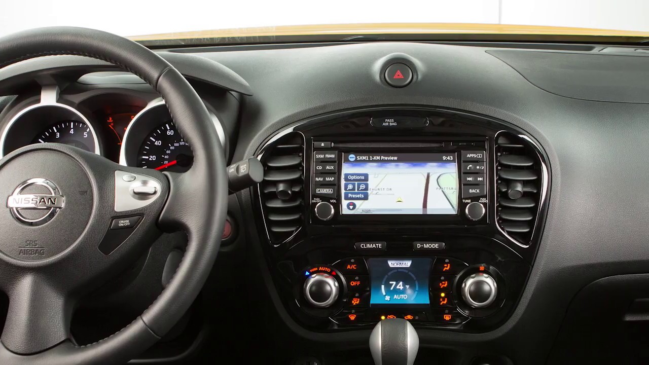 2017 nissan juke - connecting procedure - with navigation (if so