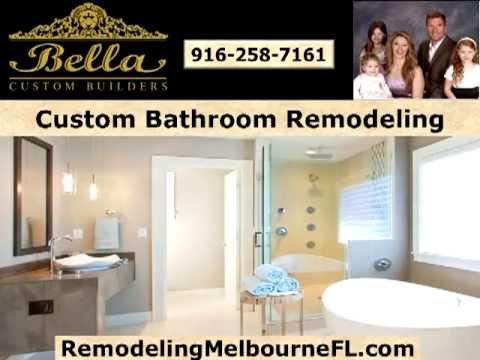 Bathroom Remodeling Melbourne FL Bella Custom - Bathroom remodel melbourne fl