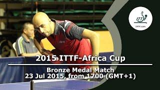 2015 ITTF-Africa Cup - 3rd Place Playoffs