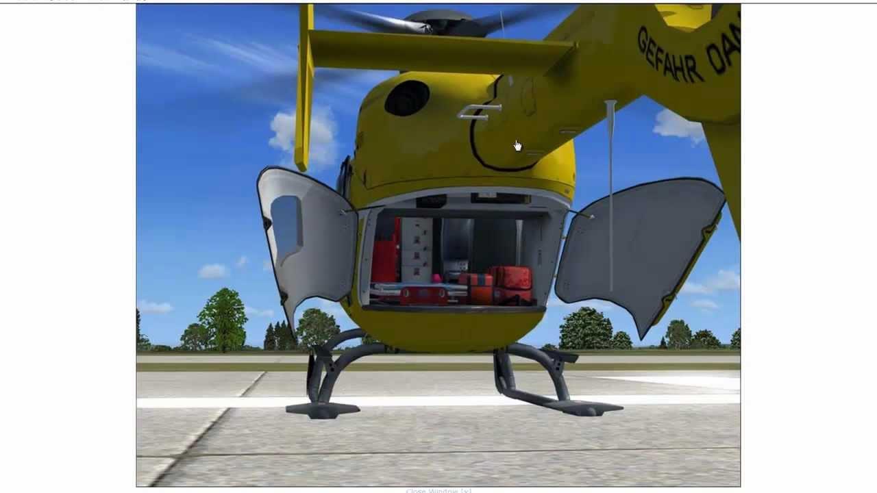 Flight Simulator X 2012 Eurocopter Ec 135 Helicopter