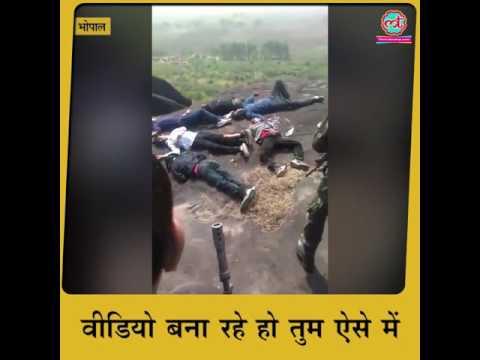 Madhya Pradesh encounter third video raises more questions
