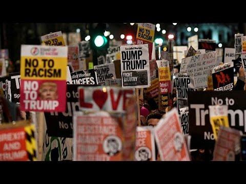 Uk, sale la protesta contro il decreto anti-immigrazione di Trump