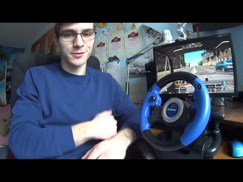 Как настроить руль Defender Challenge Turbo GT!Подробная инструкция!
