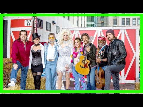 today' show goes country for halloween 2017: matt lauer as dolly ...