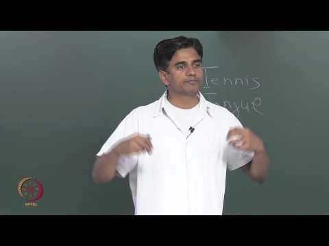 Mod-01 Lec-11 Places and Manners of Articulation