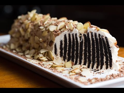 Old School Chocolate Wafer Log Recipe By SAM THE COOKING GUY