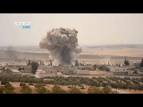 Sesenta Bombardeos Sobre Idlib En Tres Horas
