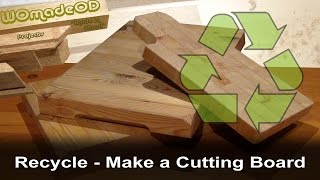 Recycle - Table Top To Cutting Boards