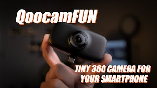 QoocamFUN - Turn your smartphone into 360 camera