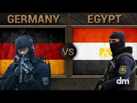 Germany vs Egypt - Army/Military Power Comparison 2018