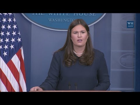 11/17/17: White House Press Briefing