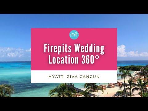 firepits-wedding-location-hyatt-ziva-cancun