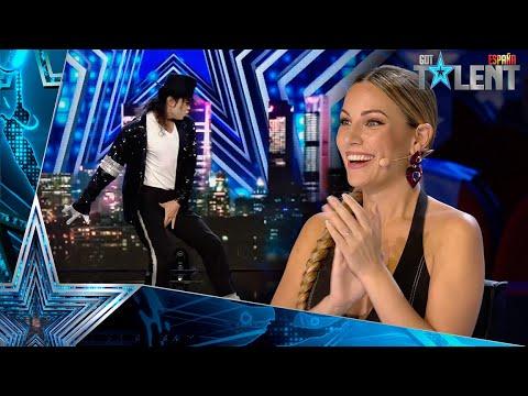 OMG: La brillante imitación de Michael Jackson   Audiciones 8   Got Talent España 2021