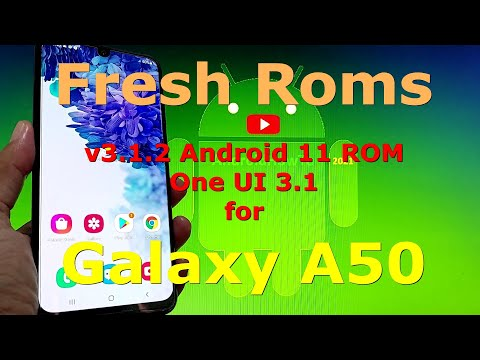 Fresh Roms Android 11 for Samsung Galaxy A50 One UI 3.1