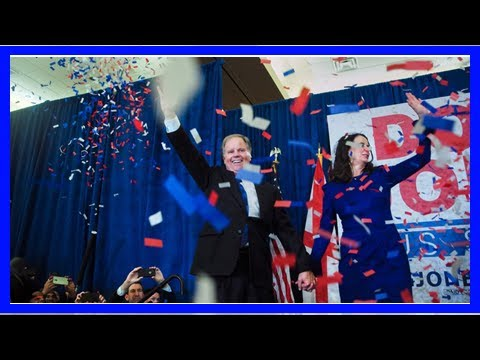 AMERICAN NEWS TODAY - Once is a long shot, Democrat doug jones WINS alabama Senate race