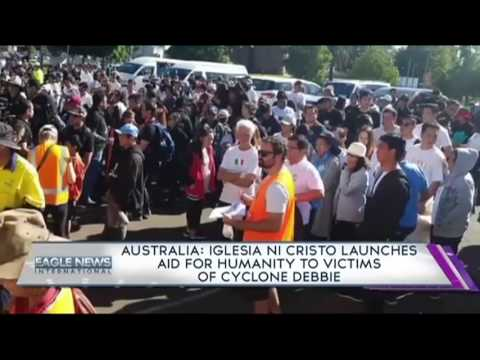 AUSTRALIA: INC's Aid for Humanity to the victims of Cyclone Debbie