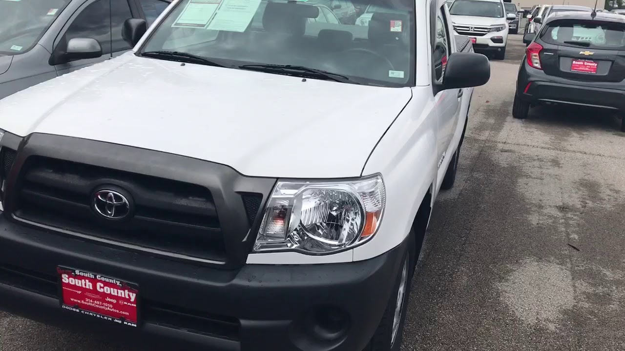 2007 Toyota Tacoma At South County Dodge Chrysler Jeep RAM