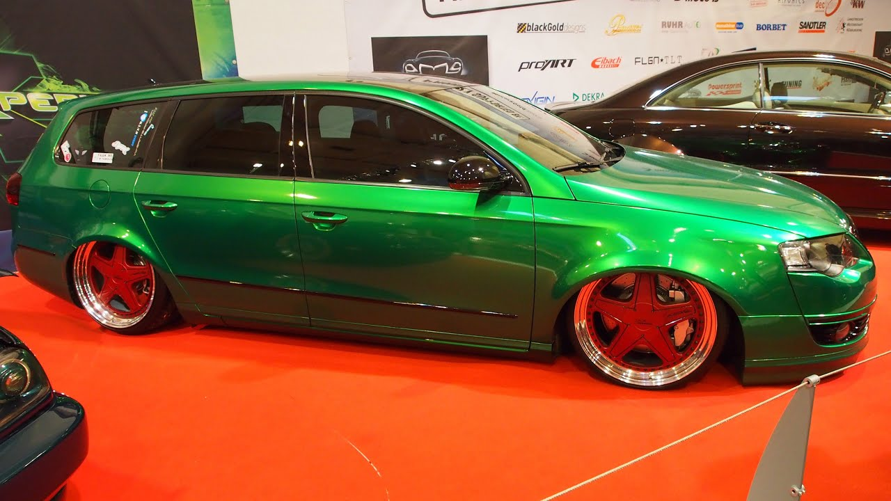 volkswagen passat 3c 2 0 tdi 2008 tuning at essen