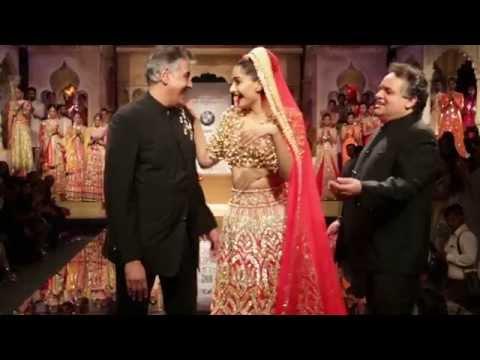 Sonam Kapoor | Bridal Wear | Abu Jani & Sandeep Khosla | BMW India Bridal Week