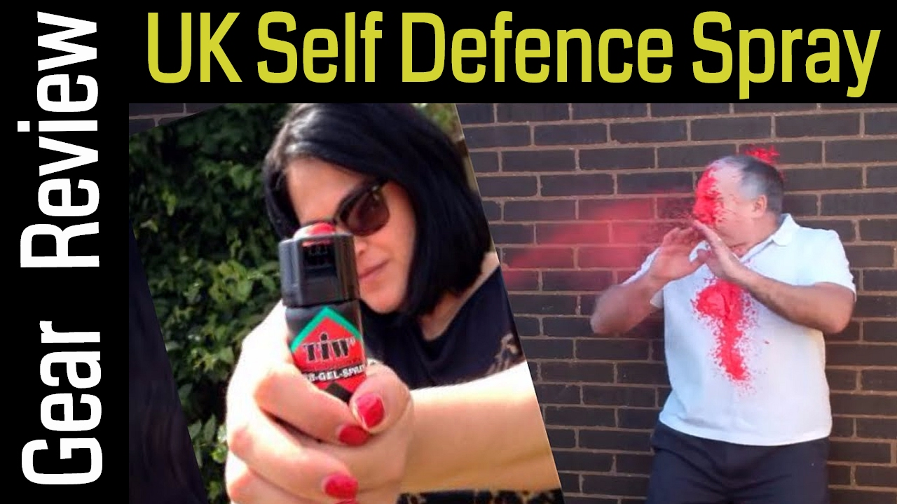 Uk Legal Pepper Spray For Self Defence Video Review And