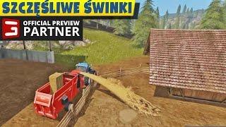 Jak zajmować się świniami Farming Simulator 2017 - Polski gameplay cz.1