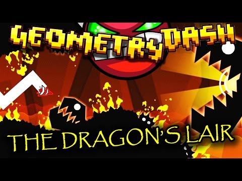 Geometry Dash | THE DRAGON'S LAIR (Demon) by Nasgubb ~ REALLY FUN LEVEL