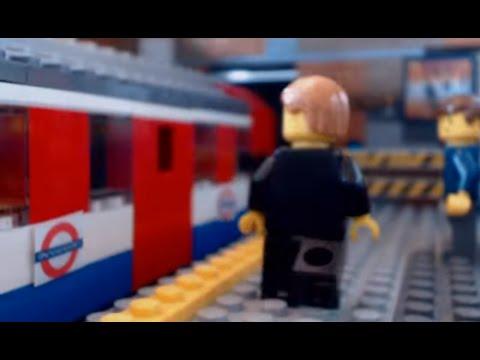 LEGO Skyfall London Underground