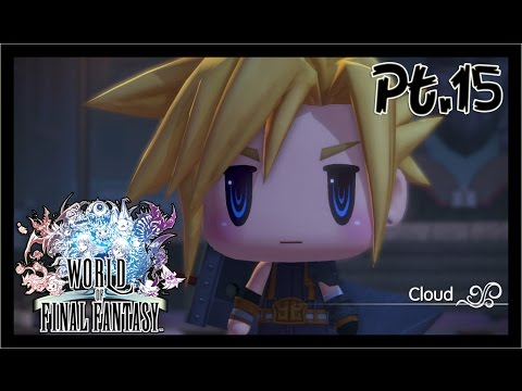 World of Final Fantasy Playthrough Part 15 - Cloud, Celes, Cid, Tometown of the Ancients
