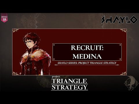 Project TRIANGLE STRATEGY - Recruit: Medina (Side Story) - No Commentary