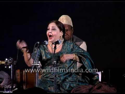 'Aaj Jane Ki Zid Na Karo' by Farida Khanum