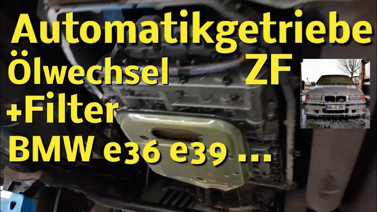 automatikgetriebe l wechseln mit filter 5hp18 bmw e36 zf. Black Bedroom Furniture Sets. Home Design Ideas