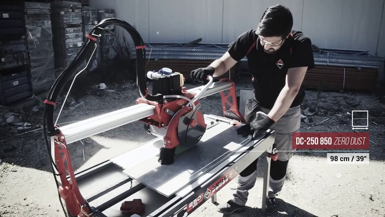 Rubi Dc250 850 Tile Saw From Contractors Direct
