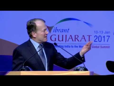 John Chambers, Executive Chairman, CISCO Systems USA on Gujarat, India and Modi