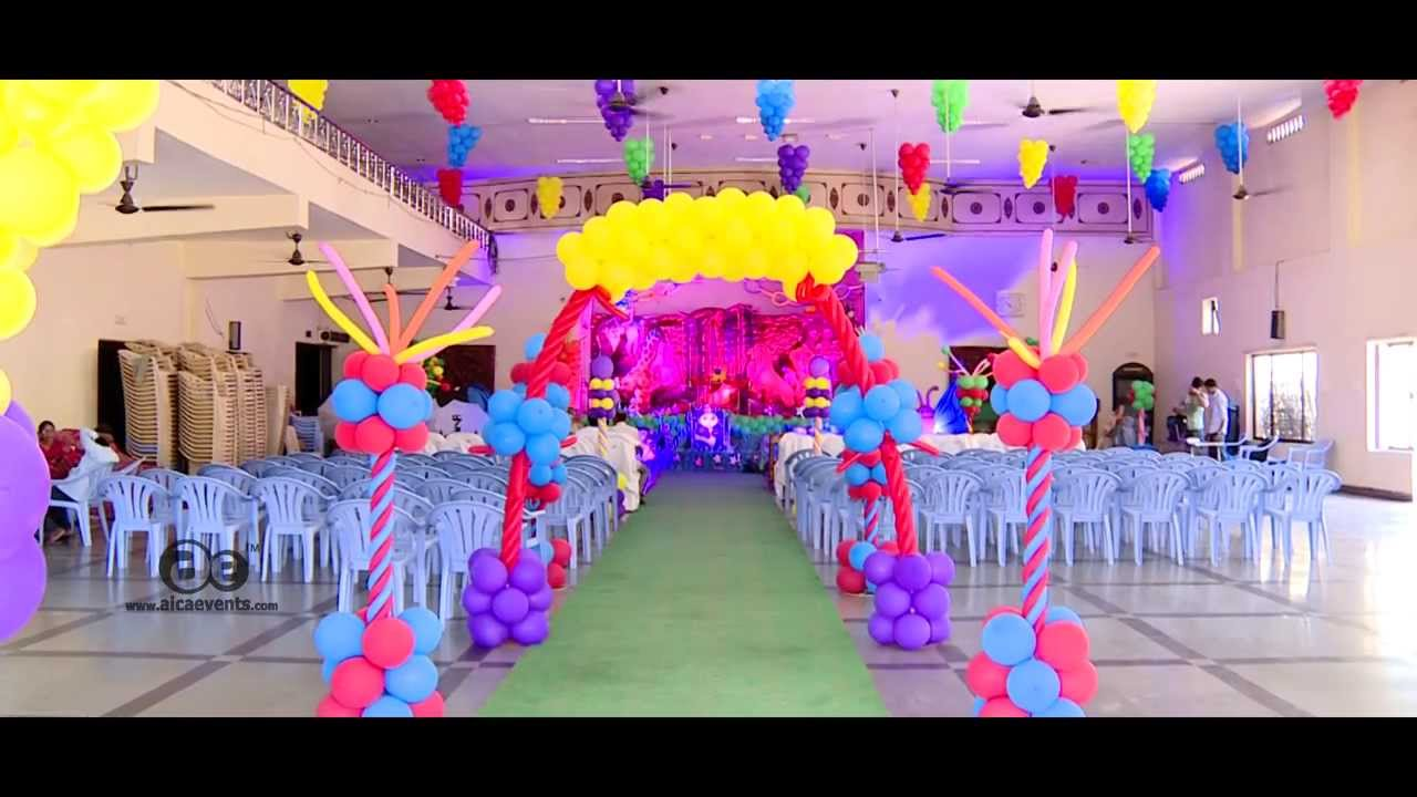 Gagan naming ceremony decoration by aica events youtube for Baby namkaran decoration