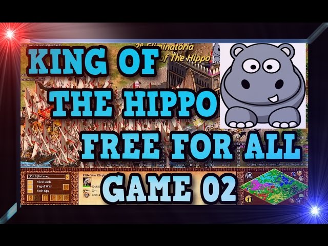 Age of Empires 2 HD King of The Hippo Game 02 AoE2HD Gameplay PT BR