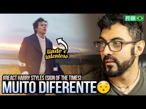REAGINDO a Harry Styles - Sign of the Times