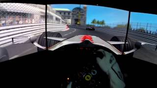 RFACTOR | FS ONE 2008 | Mónaco | Thrusmaster TX Wheel